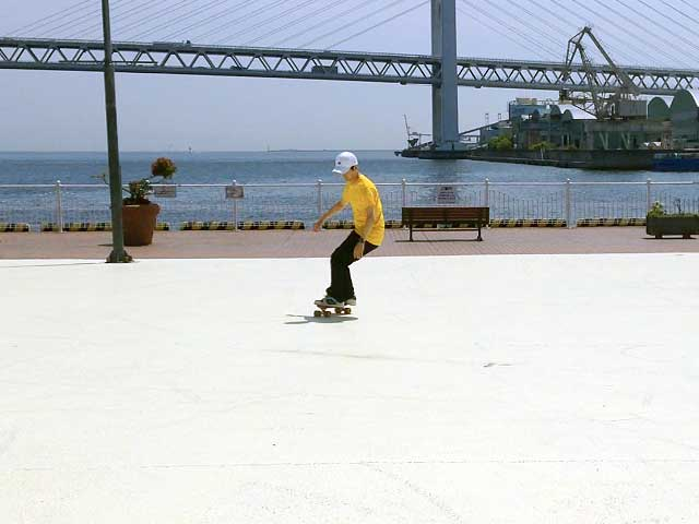 SideSK8スケートボードムービー